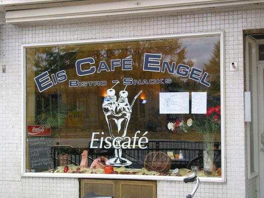 Foleinbeschriftung Cafe