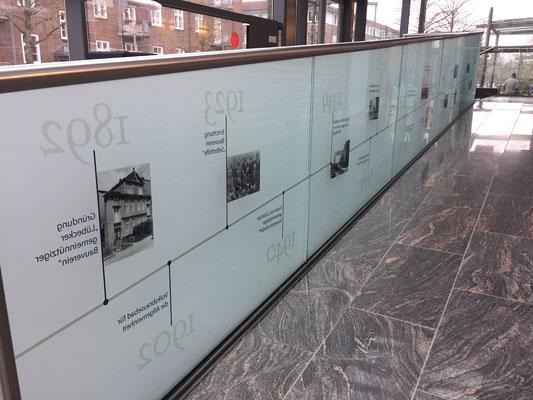 Folienbeschriftung Geschichte / Innenbereich