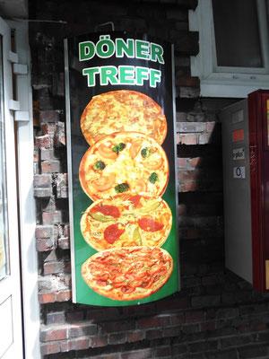 Leuchtkasten Döner Restaurant