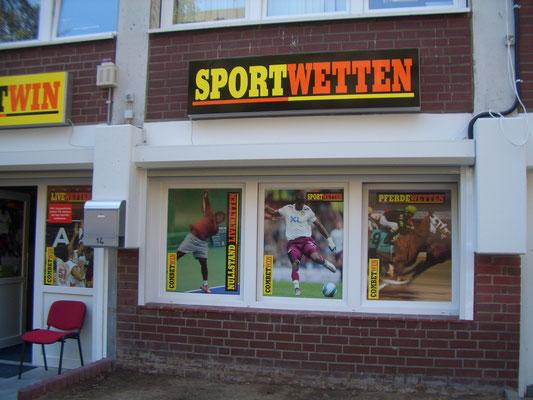 Lichtwerbung für Sportwetten