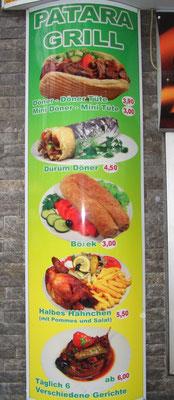 Leuchtkasten Grill-Restaurant