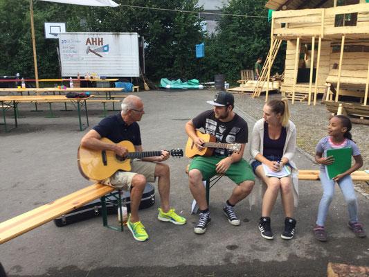 Liederabend mit Röbi und Hugi