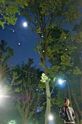 2012/10/24 上野公園にて。Mayuが撮影した写真