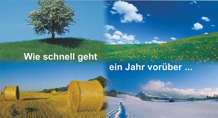 Postkarte Jahreszeiten 2