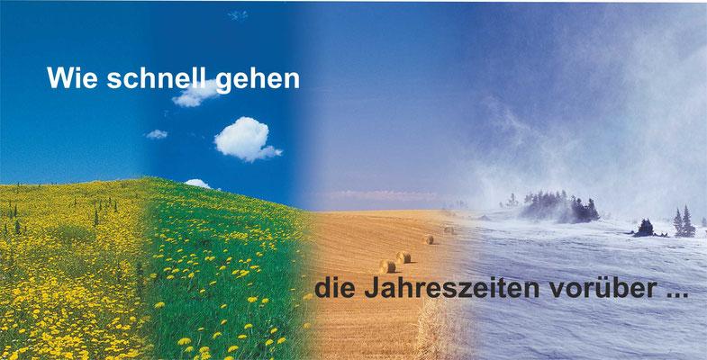 Postkarte Jahreszeiten 3