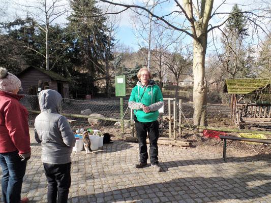 Der Organisator - Herr Sven Näther vom Elbe-Tier-Park Hebelei