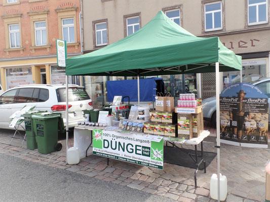 Naturalshop Häntsch aus Wilthen auf dem Bauernmarkt in Wilsdruff