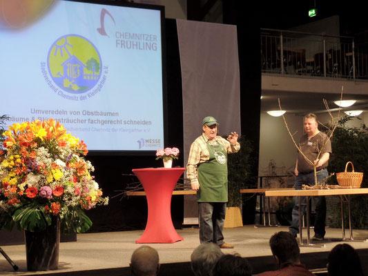 Eindrücke über die schön gestaltete Messehalle in Chemnitz