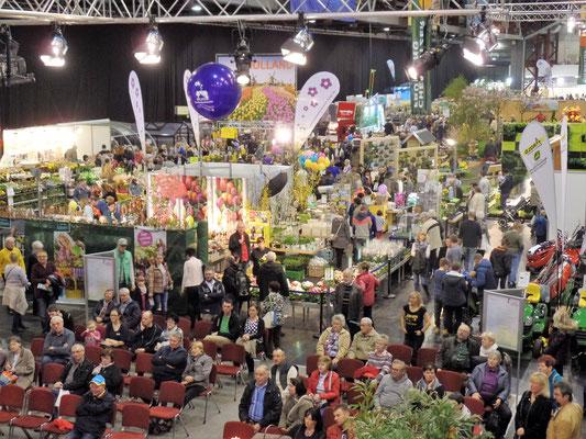 Eindrücke über die schön gestalteten Messehalle in Chemnitz