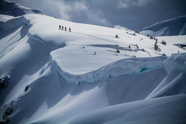 Wi 021 Location: British Columbia, Canada - Rider: Christian Fink, Coletta Litjens, Benny Steiner, Peter Litjens
