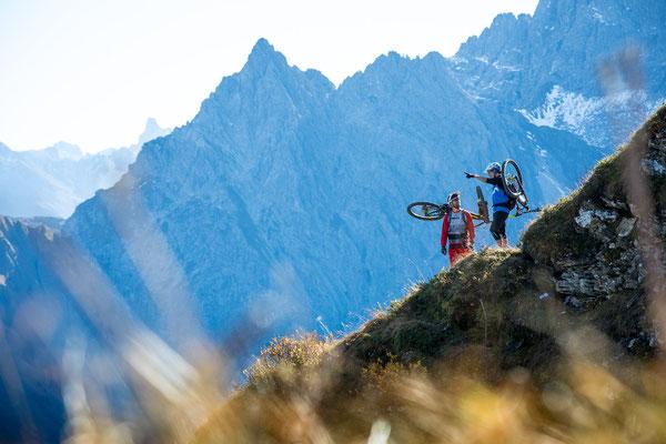 MB 100 - Rider: Max Schumann und Ines Thoma - Location Kleinwalsertal, Österreich