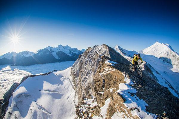 MB 005 - Rider: Florian Häusler - Location: Walliser Alpen, Schweiz