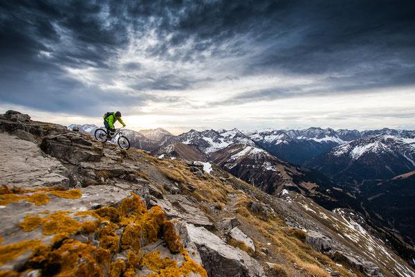 MB 009 - Rider: Florian Bergmann Location: Lechtaler Alpen