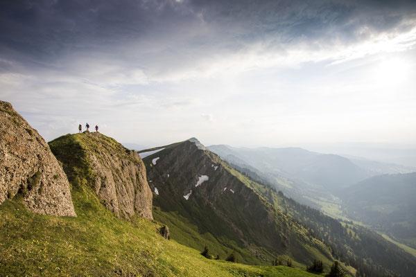 AD 025 - Manuela Schiebel, Florian Häusler and Lukas Schädler - Location: Allgäu Alps