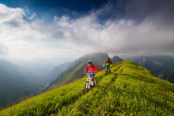 MB 017 - Rider: Alina Kuffner und Fabian Merz - Location: Allgäu