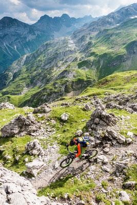 MB 032 - Rider: Robert Härle - Location: Allgäuer Alpen