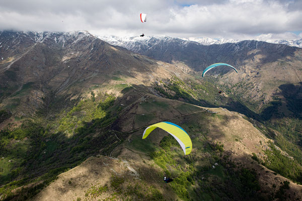 PA 067 - People: Ramona Fischer, Andy Flühler und Verena Siegl - Location: Aostatal, Italien