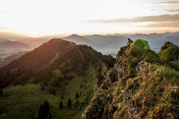 AD 030 - Benny Steiner, Manuela Schiebel - Location: Allgäu Alps