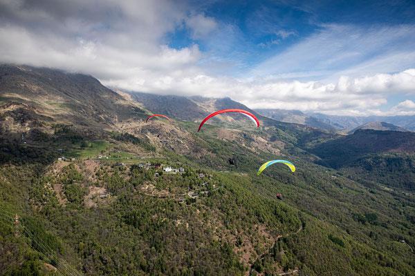 PA 066 - People: Ramona Fischer, Federico Brown Manzone und Verena Siegl - Location: Aostatal, Italien