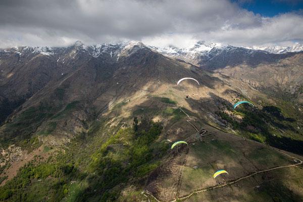 PA 070 - People: Ramona Fischer, Federico Brown Manzone, Andy Flühler und Verena Siegl - Location: Aostatal, Italien