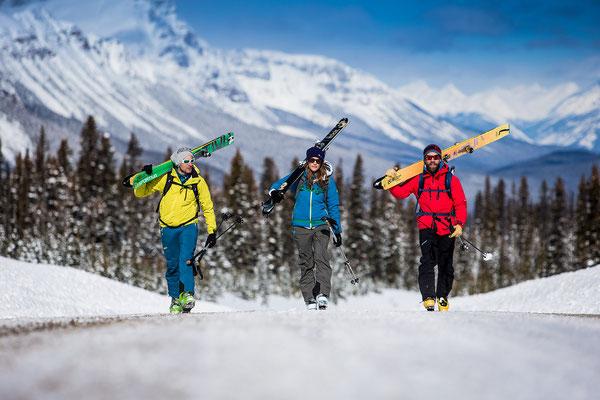 Wi 042 - Location: British Columbia, Canada - Rider: Christian Fink, Anna Fischer, Benny Steiner