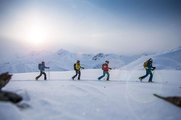Wi 039 - Location: British Columbia, Canada - Rider: Benny Steiner, Anna Fischer, Coletta Litjens, Christian Fink