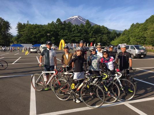 <富士山ヒルクライム>
