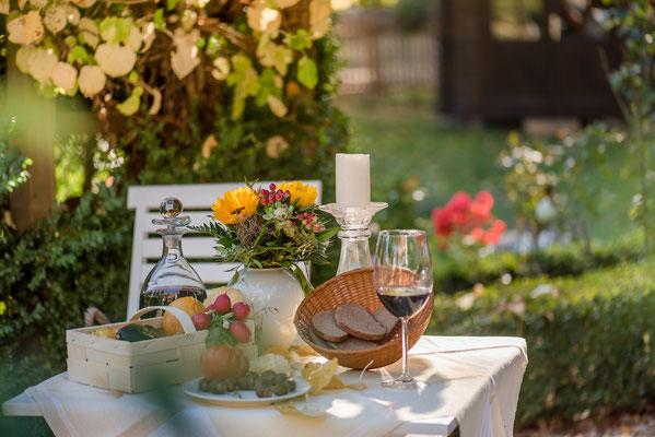 Picknick im Garten Altes Forstamt