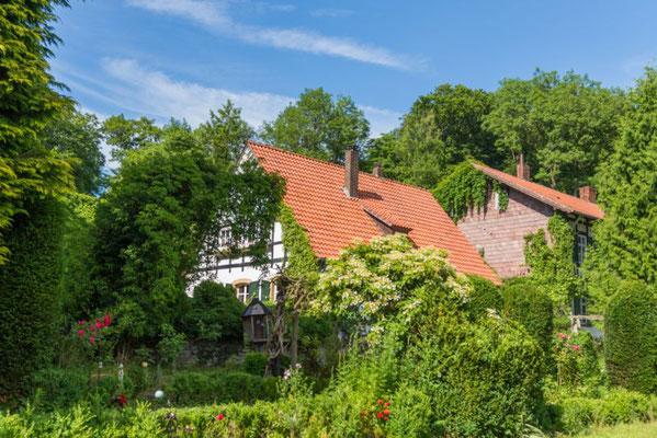 Altes Forstamt im Teutoburger Wald - Garten
