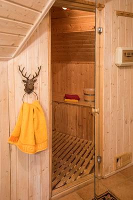 Sauna Ferienwohnung Wald-Bllick