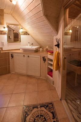 Sauna in der Wohnung Wald-Blick #AltesForstamtimteutoburgerwald#