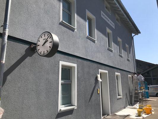 Wärmedämmung mit Fassadengestaltung