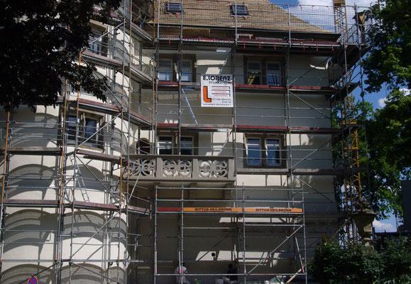 Fassadenrenovierung in Bönnigheim