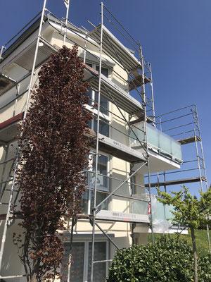 Fassadentrenovierung