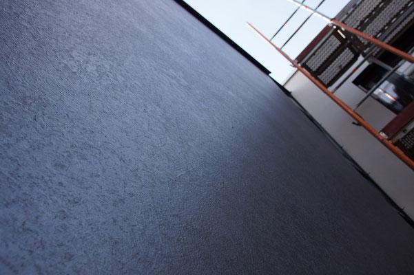 Oberflächenbeschichtung metallic grau