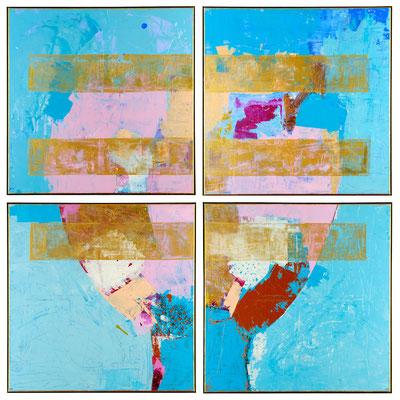 """""""flash for empathy 12"""" 210 x 210 x 3cm, Kreuzfuge"""