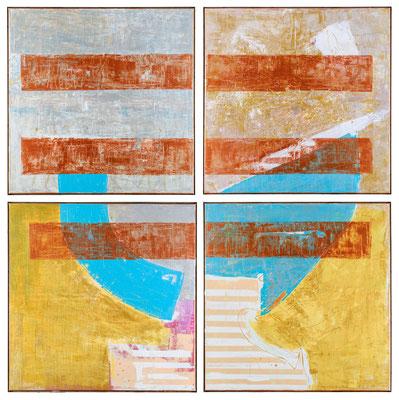 """""""flash for empathy 8"""" 210 x 210 x 3cm, Kreuzfuge"""