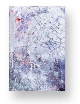 Ohne Titel/Untitled, 90 x 60 cm, Mischtechnik auf Leinwand/ Mixed Media on Canvas, 2016