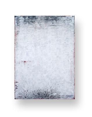 Geb dem Nichts das Sein II, 110 x 80 cm, Mischtechnik auf Leinwand/ Mixed Media on Canvas, 2016/17