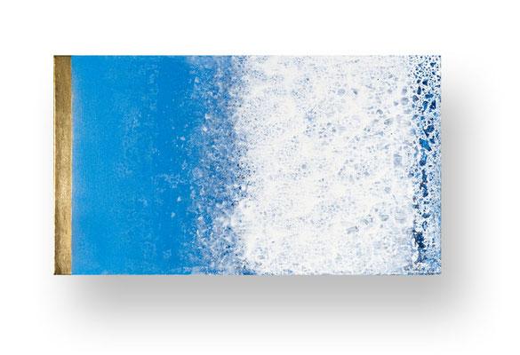 Ohne Titel/Untitled, 40 x 90 cm, Mischtechnik auf Leinwand/ Mixed Media on Canvas, 2016