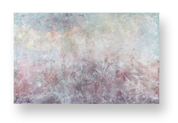 Die Insel, 170 x 270 cm, Mischtechnik auf Leinwand/ Mixed Media on Canvas, 2016