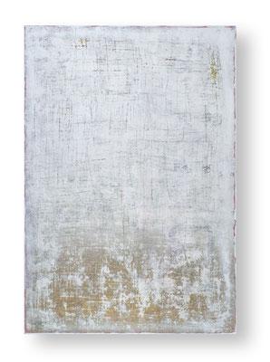 Meine tiefsten Narben folgen dem goldenen Schnitt, 160 x 110 cm, Mischtechnik auf Leinwand/ Mixed Media on Canvas, 2016