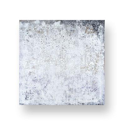 Ohne Titel/Untitled, 100 x 100 cm, Mischtechnik auf Leinwand/ Mixed Media on Canvas, 2016