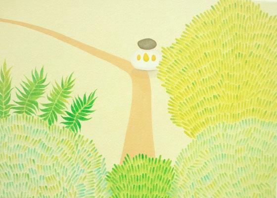 いた!   ita!           F6   Oil on canvas, 2009