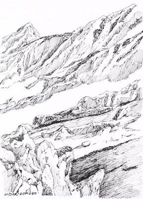 北アルプス 立山 雄山から