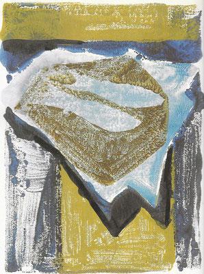 Fische, Monotypie, 1963