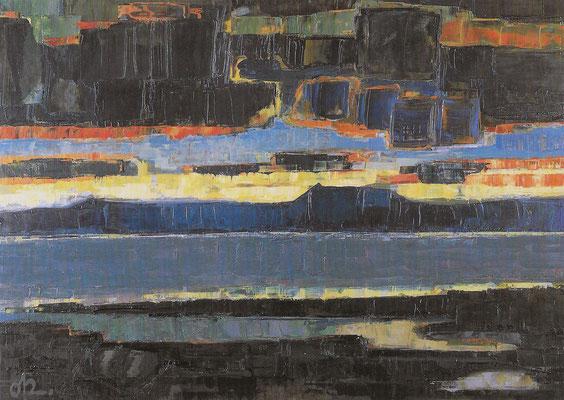 Abendstimmung am Untersee 2, 1967