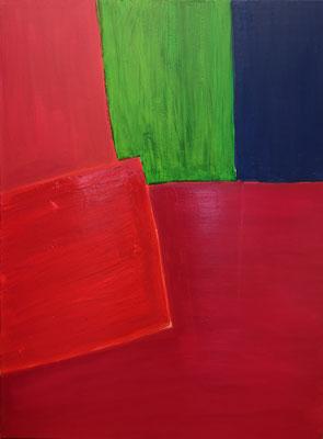Farbkomposition, Acryl auf Leinwand, 70 cm x 80 cm