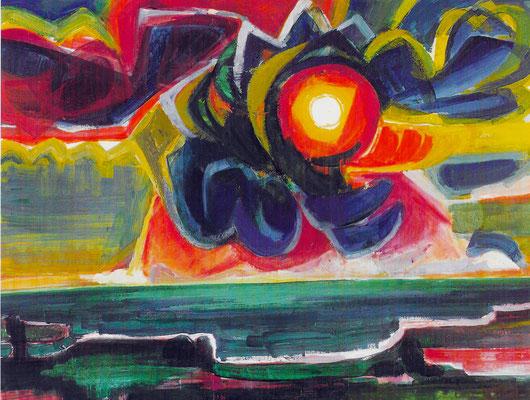 Sonnenlandschaft 1969
