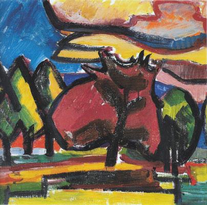 Roter Baum 1963